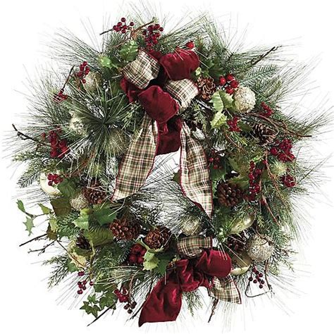 traditional christmas wreaths ideas houzz decorating for christmas photograph christmas plaid