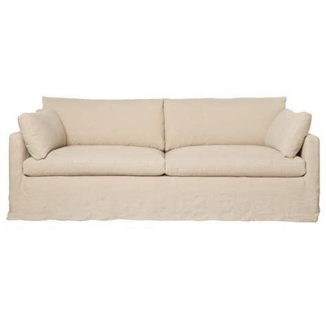 Cisco Brothers Sofa Slipcover by Cisco Brothers Louis Modern Classic Oatmeal Linen Slip