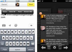 Tweetdeck for iphone gets a huge makeover with new features for Tweetdeck for iphone gets makeover