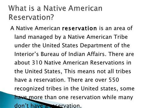 united states department of interior bureau of indian affairs the history of reservations pp