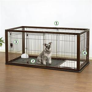 amazoncom richell expandable pet crate with floor tray With pet supplies dog crates