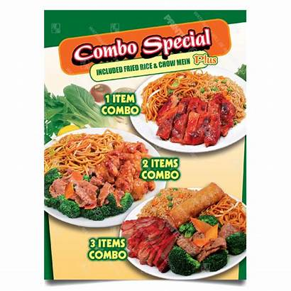 Poster Combo Combos Special Cf Chinese Offers