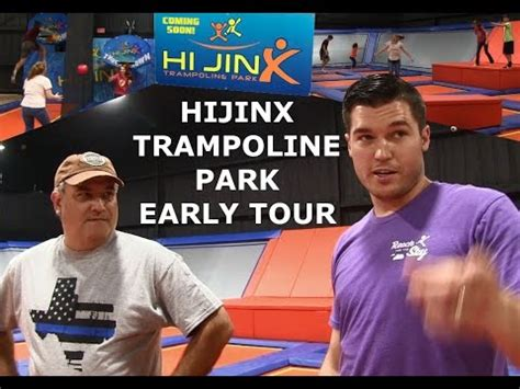 Hijinx Trampoline Park Sneak Peak Tour Youtube