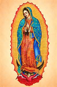 Guadalupe Virgin Mary Drawings