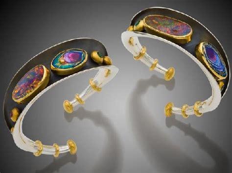 mona  alex szabados enamel jewelry art art kaleidoscope