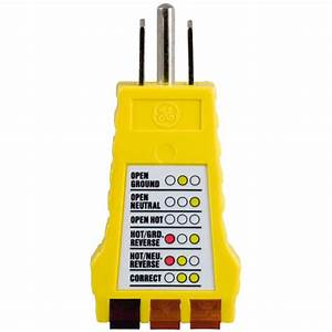 Power Gear 3-wire Receptacle Tester-50542