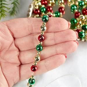 Mini, Christmas, Tree, Beaded, Garland, -, What, U0026, 39, S, New