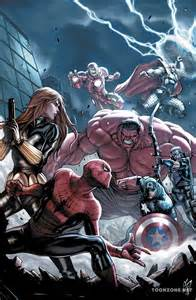 Avengers Black Widow vs Hulk Comic