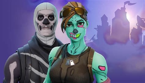 Account For Sale! Includes Skull Trooper Ghoul Trooper