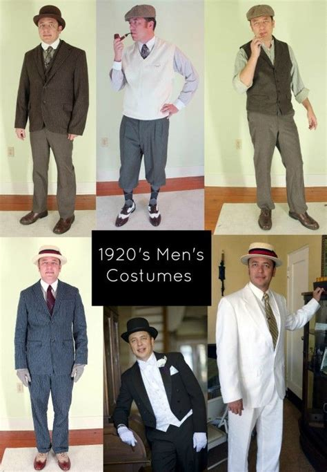 7 Easy 1920s Menu0026#39;s Costumes Ideas | Pinterest | 1920s mens ...