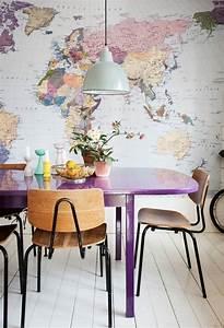 1001 wunderschone ideen wie sie ihre kuche dekorieren konnen With balkon teppich mit tapete mit lila