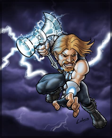 ultimate thor by lolongx on deviantart