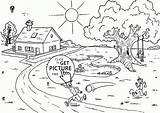 Coloring Seasons Printables Para Colouring Colorear Dibujos Camp Verano Dibujo Tablero Seleccionar Wuppsy sketch template