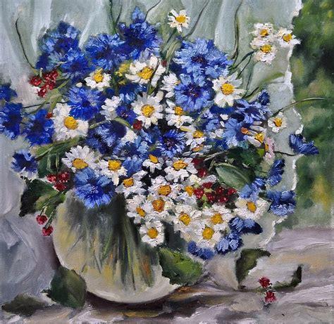 dipinti di fiori a olio quadri ad olio fiori kk15 187 regardsdefemmes