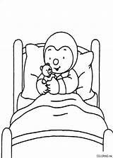 Coloring Bed Tchoupi Charley Mimmo Coloriage Lit Desenhos Ausmalbilder Colorear Dibujos Colorir Websincloud Colorare Disegni Coloriages Plantillas Malvorlagen Objets Designlooter sketch template