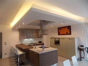 Foto controsoffitti in cartongesso cucina di impreservice for Controsoffitti in cartongesso cucina