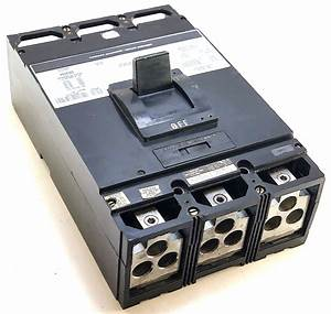 Square D Mal36700 3 Pole 700 Amp 600 Vac Circuit Breaker W
