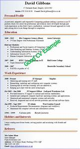 Good cv example for Great cv