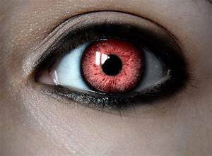 Wicked Eyes Contacts | Evil Red Eye by parkca412 | killer ...