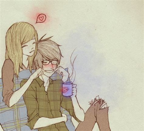 anime couple draw cute couple drawings best pictures collections just