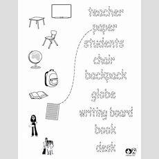 School Worksheets English  English Worksheets For Children  School Worksheets, College School