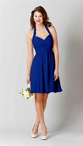 lucy royal blue royals and shorts With short blue wedding dress