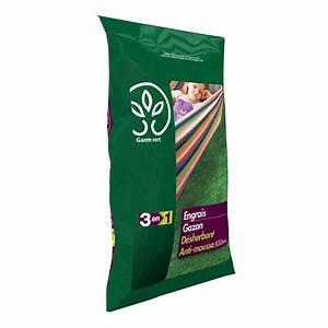 Carré Potager Gamm Vert : engrais 3 en 1 gazon d sherbant anti mousse 15 kg gamm ~ Dailycaller-alerts.com Idées de Décoration