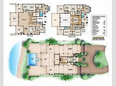 Coastal Style House Plan, 3 Story Floor Plan, Outdoor