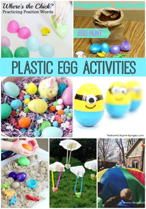 preschool easter activities using plastic eggs pre k pages 839 | Plastic Egg Activities