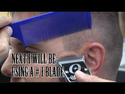 cut  high  tight short tapered mens haircut