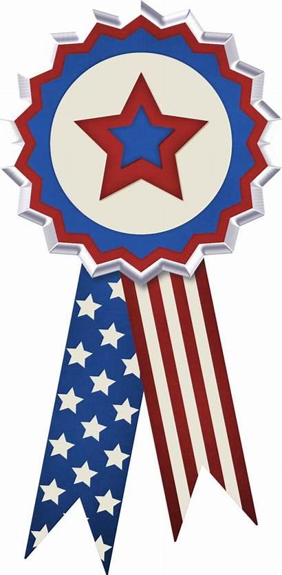4th July Flag Clipart Ribbon Patriotic Usa
