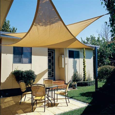 Segel Für Terrasse by Sonnensegel Sonnenschutz Beschattung Quadrat O Dreieck