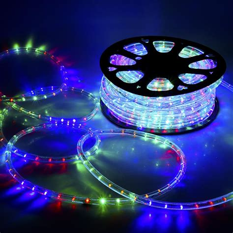 led rope light   wire party home christmas