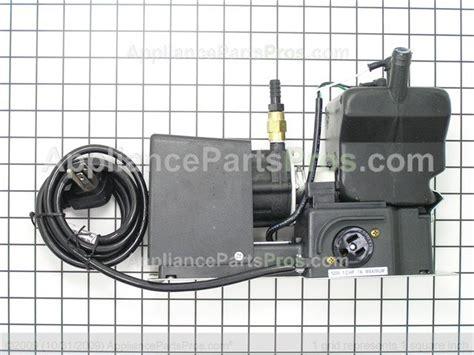 ge zpk icemaker pump kit appliancepartsproscom