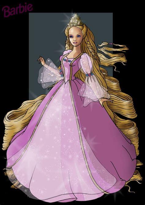 Barbie Rapunzel By Nightwing1975 On Deviantart