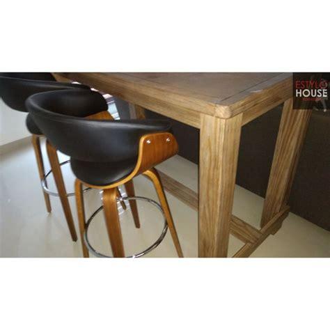 banco  barra de madera bancos modernos  barra