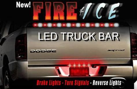 led truck bar with lights