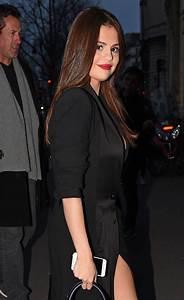 Selena Gomez in Black Dress -32 - GotCeleb