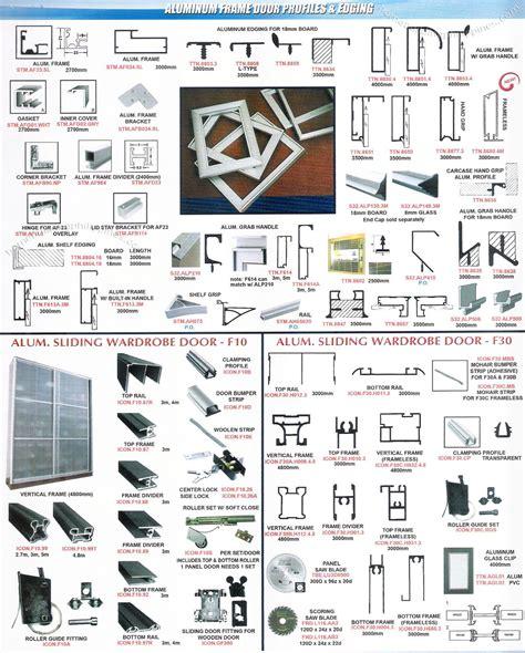 aluminum frame door profiles edging  lexton philippines