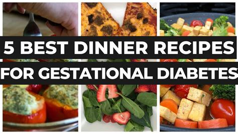 gestational diabetes recipes dinner meal plan  good