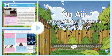 * New * Lks2 Shed Dj Daily News Powerpoint  Music, Radio, 20th