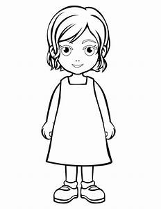 Daughter - Free Printable Coloring Pages