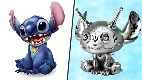 Cartoon Characters As Robots!