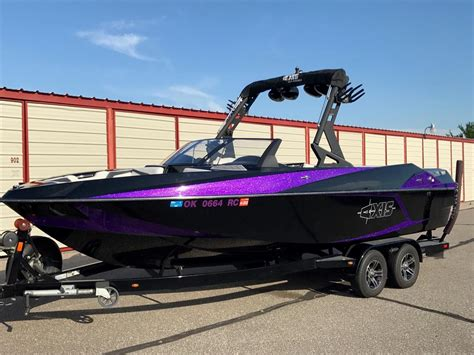 Purple Bass Boat by 2015 Axis T23 Purple Metal Flake For Sale In Oklahoma