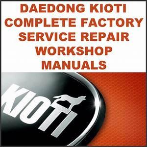 Daedong Kioti Mechron 2200 Utv Service Manual