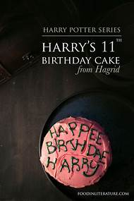 Hagrid From Harry Potter Birthday Cake