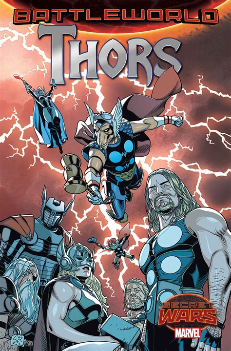 comics a corps of thors will be unleashed on battleworld