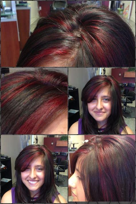 red  black hair color redken rr redken color formulas pinterest black hair colors