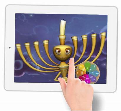 Menorah Animated Clipart Jewish Transparent Webstockreview Connect