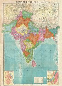 India.: Geographicus Rare Antique Maps